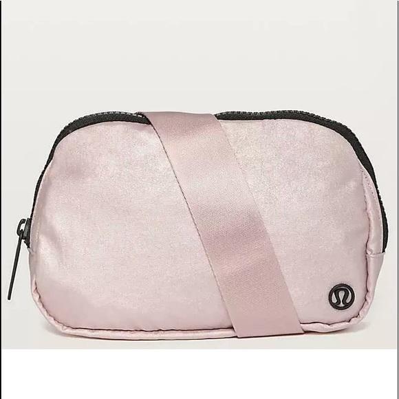 RARE Lululemon Everywhere TB2 PINK Belt Waist Bag